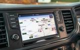 Volkswagen Grand California 2020 road test review - infotainment