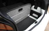 Volkswagen Up GTI 2018 review boot capacity