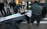 Mercedes W01 F1 car revealed