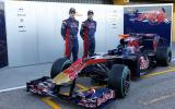 Toro Rosso F1 car unveiled