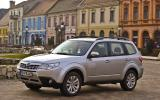 Subaru Forester 2.0 XS front quarter