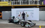 Mercedes launches new F1 car