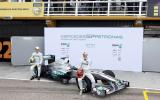 Mercedes launches new F1 car