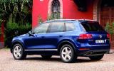 Volkswagen Touareg rear quarter