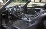 Pagani Zonda Cinque Roadster interior