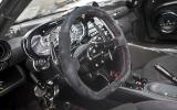 Pagani Zonda CInque Roadster dashboard