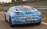 BMW i8 prototype rear end