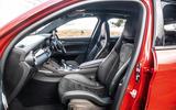 Alfa Romeo Stelvio Quadrifoglio 2019 road test review - cabin