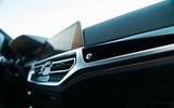 Alpina B3 2020 road test review - interior trim