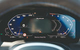 Alpina B3 Touring 2020 road test review - instruments