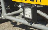 Ariel Atom 4 2019 road test review - rear light