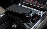 Audi E-tron 55 Quattro 2019 road test review - gear selector