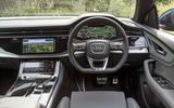 Audi Q8 50 TDI Quattro S Line 2018 road test review - dashboard