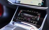 Audi RS7 Sportback 2020 road test review - climate controls