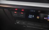 Audi S3 Sportback 2020 road test review - climate controls