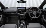 Audi S4 TDI 2019 road test review - dashboard