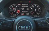 Audi SQ2 2019 road test review - digital cluster