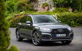 Audi SQ5 TDI 2020 road test review - static front