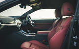 13 BMW 4 Series M440i road test review 2021 cabin