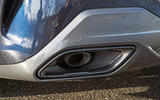 BMW 8 Series Coupé 2019 road test review - exhaust tips