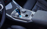 13 BMW i4 M50 2021 first drive review centre console