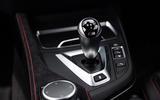 BMW M2 CS 2020 road test review - gearstick