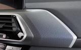BMW X4 2018 road test review interior trim