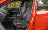 BMW X4 M Competition 2019 road test review - cabin