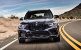BMW X5 M Competition 2020 road test review - on the road nose