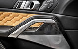 BMW X6 M Competition 2020 road test review - door trims