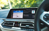 BMW X7 2020 road test review - infotainment