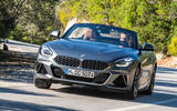BMW Z4 2018 review - cornering front