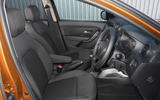 Dacia Duster 2018 road test review cabin