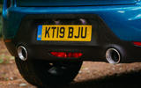 DS 3 Crossback 2019 road test review - exhausts