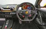 Ferrari 812 Superfast 2018 road test review dashboard