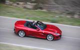 Ferrari Portofino review Matt Saunders driving