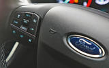 Ford Puma 2020 road test review - steering wheel