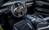 Ford Shelby Mustang GT500 2020 road test review - steering wheel