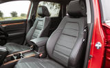Honda CR-V 2018 road test review - front seats