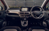 Hyundai i10 2020 road test review - dashboard