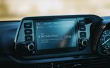 13 Hyundai i20 2021 road test review infotainment