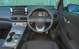 Hyundai Kona Electric 2018 road test review - dashboard
