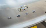 Hyundai Nexo 2019 road test review - rear badge