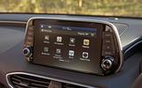 Hyundai Santa Fe 2019 road test review - infotainment