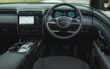 13 Hyundai Tucson 2021 road test review dashboard