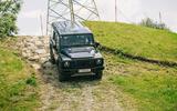 13 Ineos Grenadier 2021 prototype drive downhill