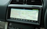 Jaguar F-Pace SVR 2019 road test review - navigation