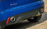 Jaguar E-Pace review exhaust