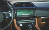 Jaguar F-Pace SVR 2019 first drive review - infotainment