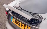 Jaguar F-Type 2020 road test review - spoiler open